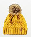 Roxy Blizzard Spruce Yellow Beanie