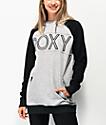 Roxy Liberty sudadera con capucha gris jaspeado