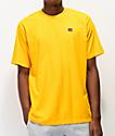 Russell Athletic Baseliner camiseta dorada