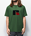 Russell Athletic Jerry Flock Green T-Shirt