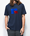 Russell Athletic Jerry Flock Navy Blue T-Shirt