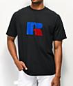 Russell Athletic Jerry Flock camiseta negra