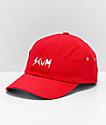 SCUM Logo gorra roja