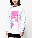 SWIXXZ Chain Link camiseta blanca de manga larga