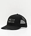 Salty Crew Pinnacle Retro gorra negra de camionero