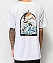 Salty Crew Poppin Off camiseta blanca