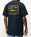 Salty Crew Stealth camiseta azul marino