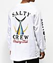 Salty Crew Tailed camiseta de manga larga blanca