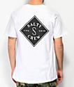 Salty Crew Tippet camiseta blanca de dos tonos