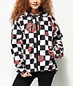 Santa Cruz Checker Dot Windbreaker Jacket