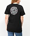 Santa Cruz Checkered Waste Dot camiseta negra