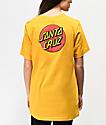 Santa Cruz Classic Dot Gold T-Shirt
