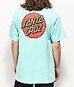 Santa Cruz Classic Dot Stripe Celadon T-Shirt
