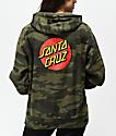 Santa Cruz Classic Dot sudadera con capucha de camuflaje