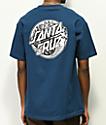 Santa Cruz Mermaid Dot camiseta azul
