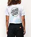 Santa Cruz Missing Dot camiseta tie dye lavanda y menta