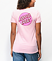 Santa Cruz Other Dot Pink T-Shirt