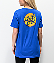 Santa Cruz Other Dot Royal Blue T-Shirt