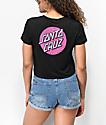 Santa Cruz Other Dot camiseta corta en negro