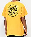 Santa Cruz Other Dot camiseta dorada
