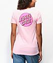 Santa Cruz Other Dot camiseta rosa