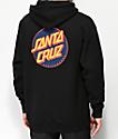 Santa Cruz Other Dot sudadera con capucha negra y azul