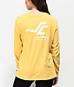 Santa Cruz Pusher Creamsicle camiseta amarilla de manga larga