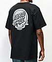 Santa Cruz Reflection Black T-Shirt