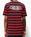 Santa Cruz Region camiseta roja y azul marino de rayas
