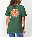 Santa Cruz Vacation Dot Forest Green T-Shirt