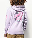 Santa Cruz Vacation Dot Lavender Hoodie
