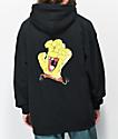 Santa Cruz x SpongeBob SquarePants Spongehand Black Hoodie