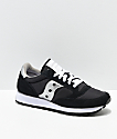 Saucony Jazz Original Black & Silver Shoes