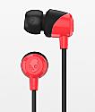 Skullcandy Jib Red & Black Earbuds