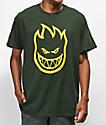 Spitfire Bighead camiseta verde