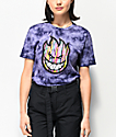 Spitfire Juicy Bighead Purple Tie Dye T-Shirt
