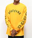 Spitfire Old E camiseta de manga larga dorada