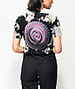 Spitfire Overlay Swirl camiseta tie dye negra