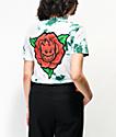 Spitfire Perennial camiseta tie dye verde y blanca