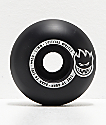 Spitfire Scorchers Black & Silver 52mm 99a Skateboard Wheels