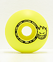 Spitfire Scorchers Yellow & Black 53mm 99a Skateboard Wheels