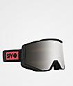 Spy Ace Night Rider Matte Black HD Snowboard Goggles