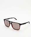 Spy Czar gafas de sol polarizadas de carey y negro mate