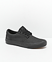 State Elgin zapatos negro de mezclilla negra