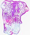 Stickie Bandits Eleprint pegatina elefante