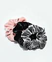 Stone + Locket Velvet Scrunchie 3 Pack