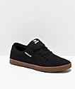Supra Stacks II zapatos de skate en negro y goma