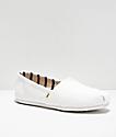 TOMS Classic Alpargata zapatos blancos