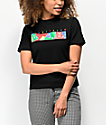 Teddy Fresh Color Bar camiseta negra