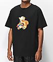 Teddy Fresh Colorful Filth Rainbow camiseta negra